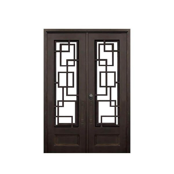 WDMA arched iron door Steel Door Wrought Iron Door