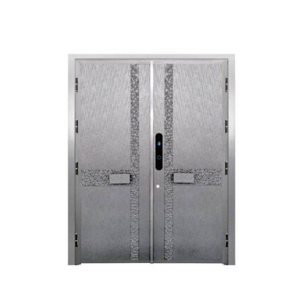 China WDMA Arches Exterior Door Aluminium External Patio French Double Door