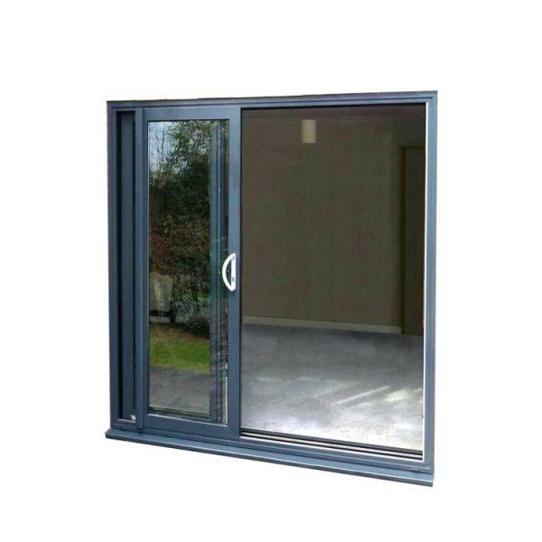 China WDMA aluminum glass sliding doors