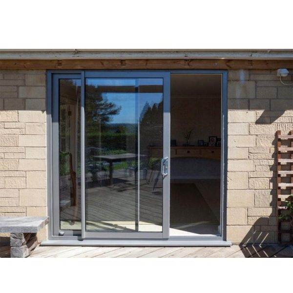 China WDMA aluminum glass sliding doors Aluminum Sliding Doors