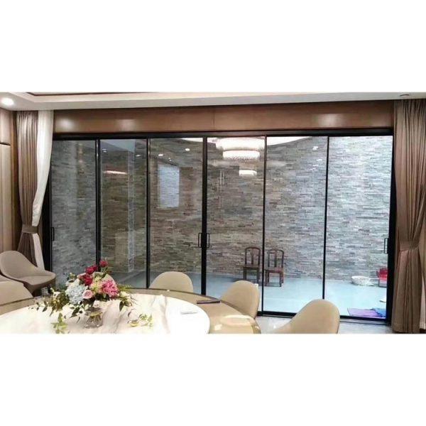 China WDMA sliding doors system Aluminum Sliding Doors
