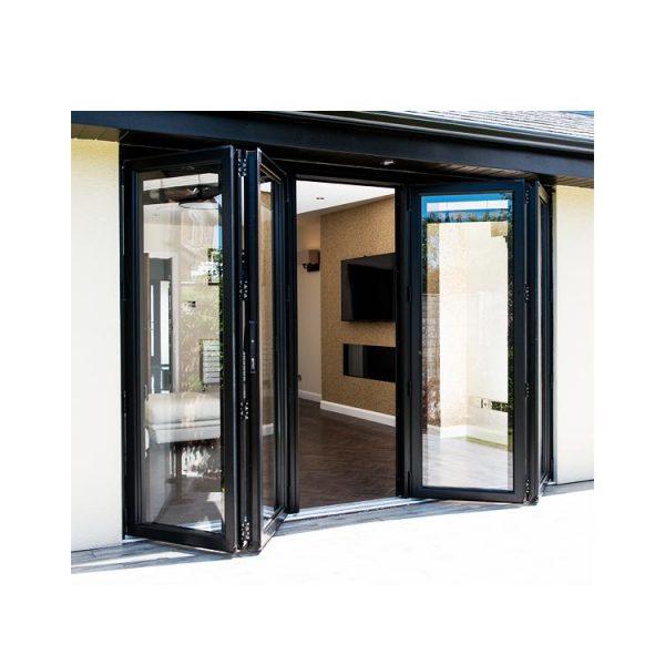 China WDMA aluminium door Aluminum Folding Doors