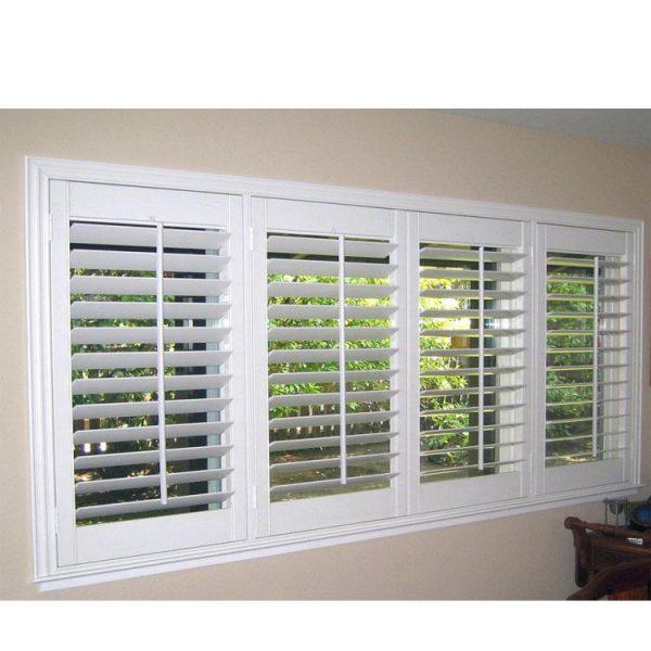 WDMA glass louvre window