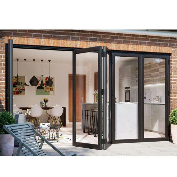 WDMA aluminium bifold door