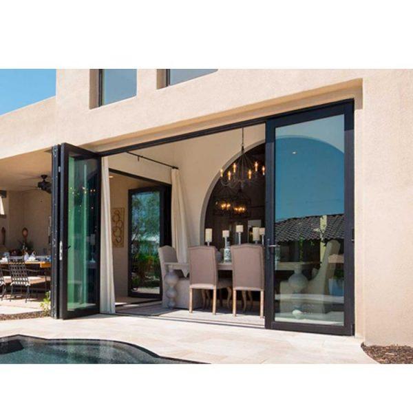 WDMA aluminium bifold door Aluminum Folding Doors