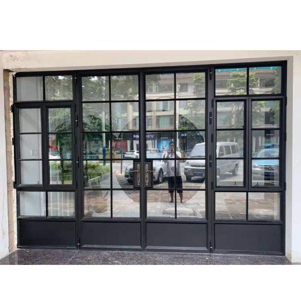 China WDMA Australian Standards Durable Low-E Double Glazed Aluminium Bifold Door