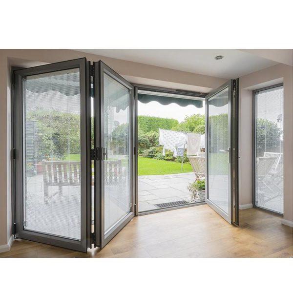 China WDMA Balcony Soundproof Folding Doors Villa Mountain House
