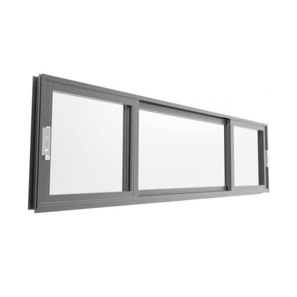WDMA Bullet Proof Door And Window Sliding Glass Reception 50 Series Aluminium Alloy Sash Glazed Thermal Break System In China