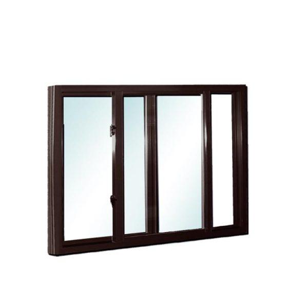 China WDMA sliding glass reception window Aluminum Sliding Window