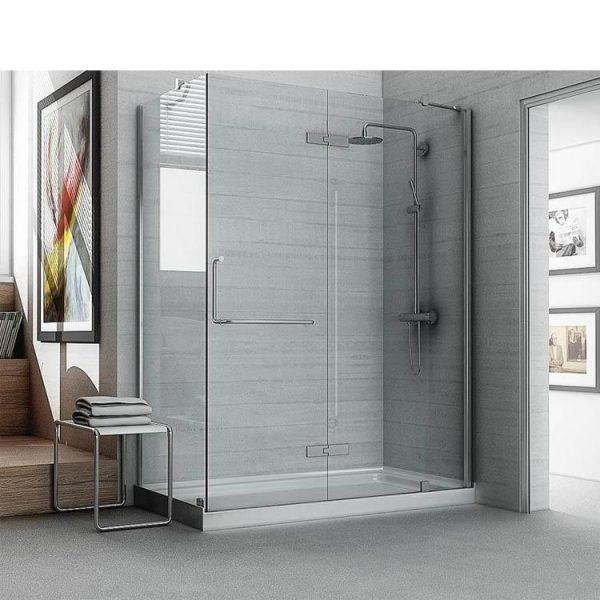 WDMA black corner shower cabin Shower door room cabin
