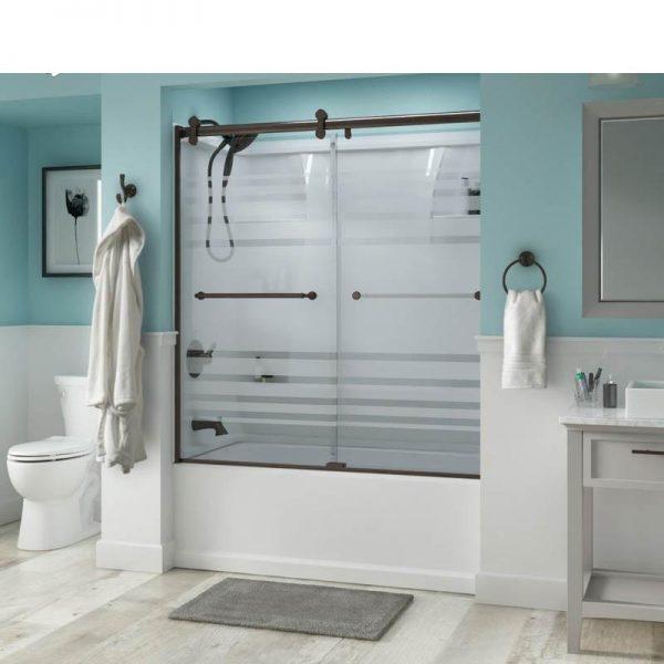 China WDMA black corner shower cabin Shower door room cabin