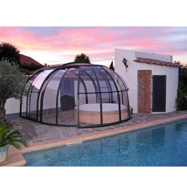 China WDMA aluminum pool enclosures Aluminum Sunroom