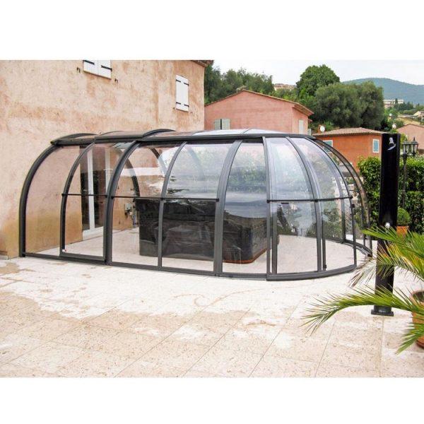 WDMA Retractable Pool Dome Cover