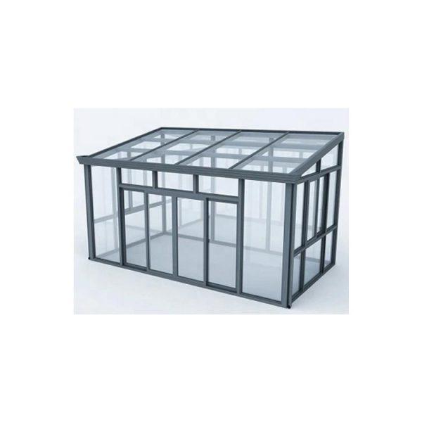 China WDMA Prefabricated Glass House