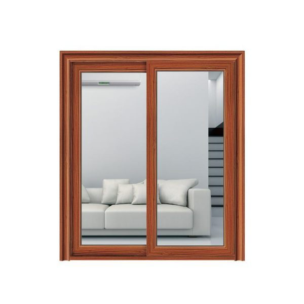 China WDMA Cheap Price Of Sliding Open Style And Finished Surface Bullet Proof Sliding Glass Door In Nigeria