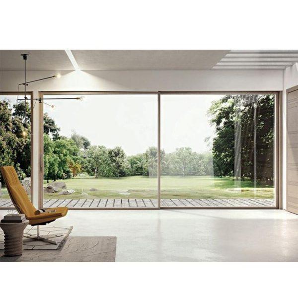 WDMA 8 ft interior doors sliding barn door Aluminum Sliding Doors