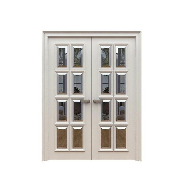 China WDMA China Double Wooden Door Carving Designs for Villas Solid wood Entry Door