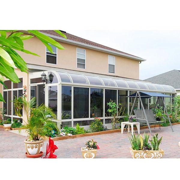 China WDMA Curved Glass Sunrooms