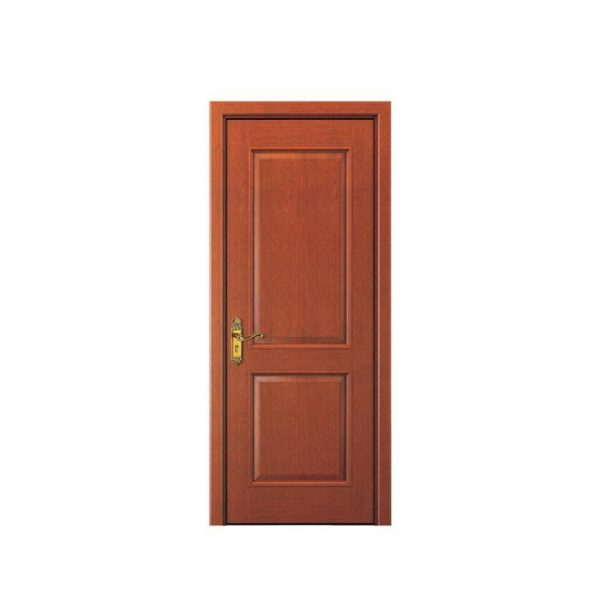 China WDMA China Factory Indonesia Wooden Single Door Flower Design Teak Wood Main Door