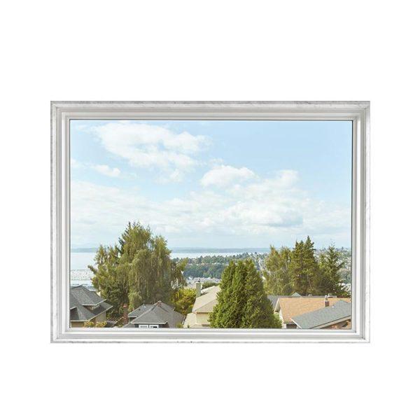 China WDMA China Factory Seller Painting Powder Coated Australian Standard Double Glazed Owning Big Fixed Panel Window Price