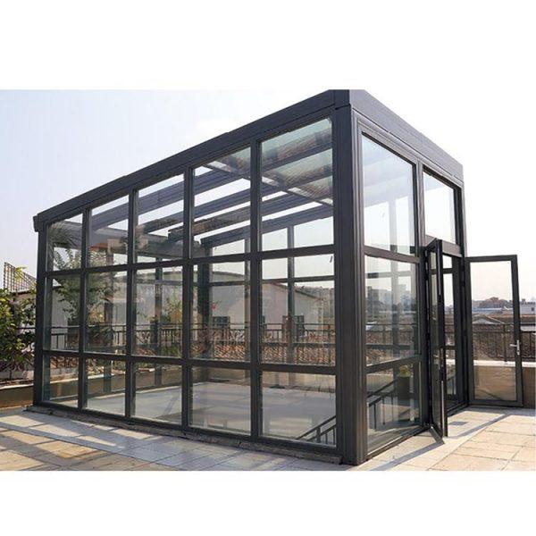 WDMA aluminum sunroom windows