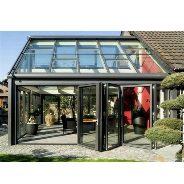 China WDMA China Manufacturer Aluminum Lean To Sunrooms Glass Houses With Windows