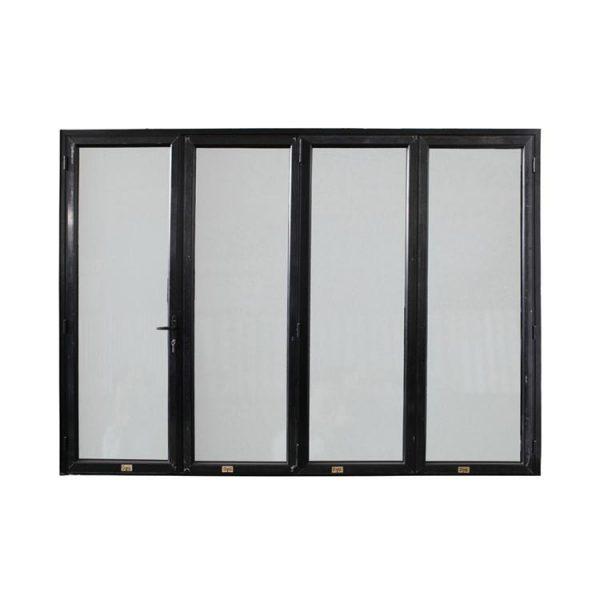 WDMA China Market Australia Standard Aluminum Glass Accordion Doors