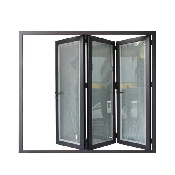China WDMA China Market Australia Standard Aluminum Glass Accordion Doors