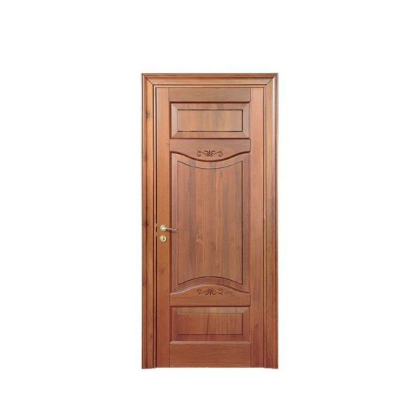 China WDMA interior curved wooden door