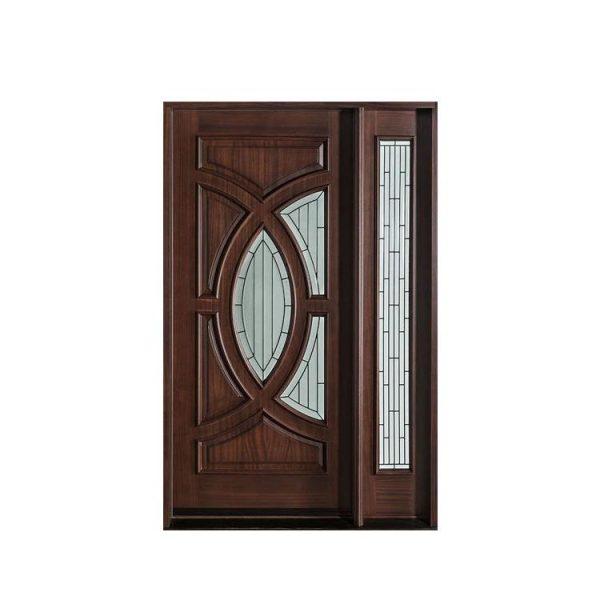 China WDMA interior curved wooden door Wooden doors