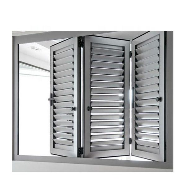 WDMA Chinese Factory Aluminum Shutter Window Blinds aluminum Jalousie Window