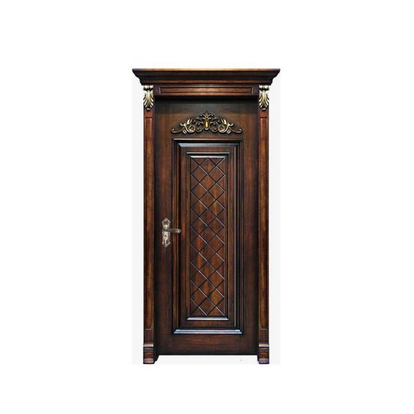 WDMA Chinese Local Raw Timber Original Sandal Wood Entrance Door Hot Press Price Of Italian Design For House