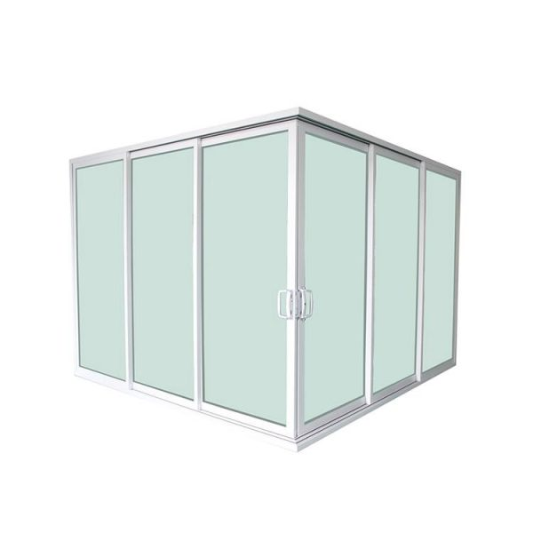 WDMA 3 panel sliding patio door price Aluminium Sliding Doors