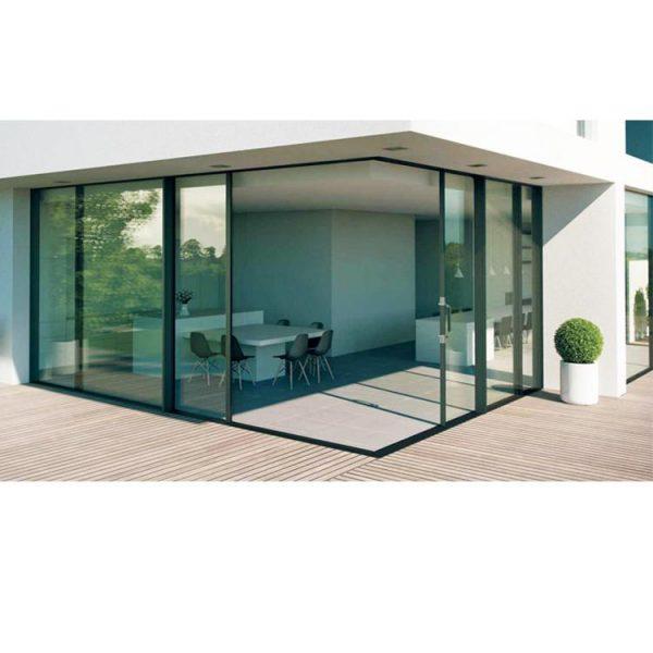 China WDMA 3 panel sliding patio door price