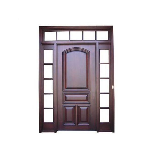 WDMA Solid Wood Arch Door