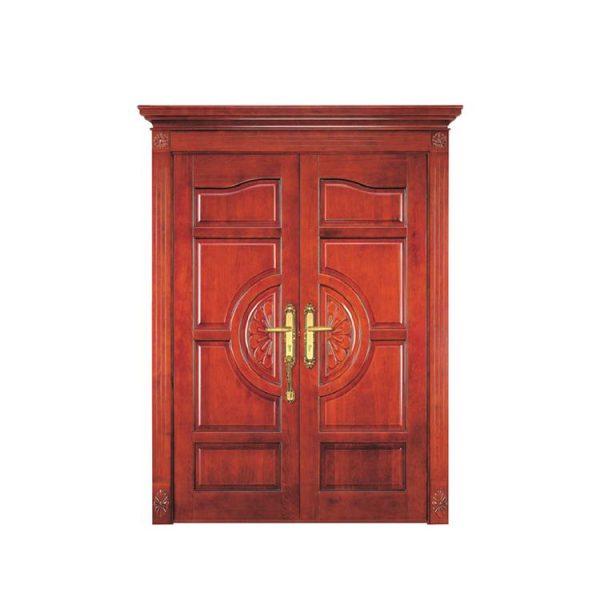 China WDMA solid teak door
