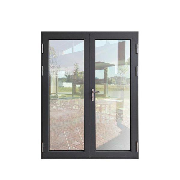 China WDMA commercial door Aluminum Hinged Doors