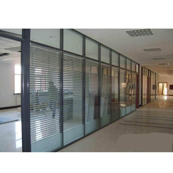 WDMA cost of glass partition wall Aluminum office partition