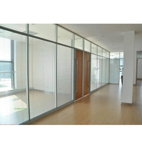 China WDMA Cost Of Floor To Ceiling Aluminium Sliding Glass Partition Wall With Detail Dwg
