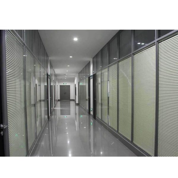 China WDMA cost of glass partition wall Aluminum office partition