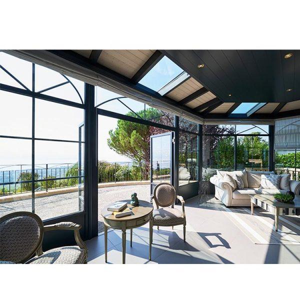 WDMA glass sunroom panels