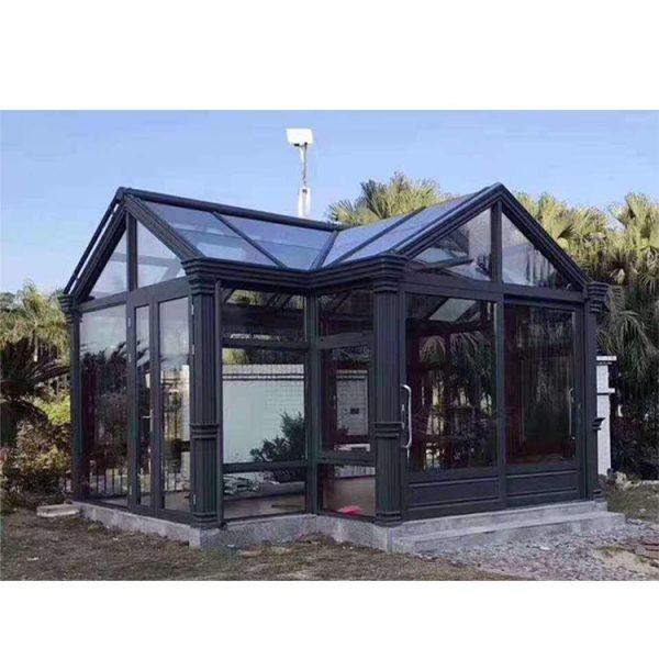 China WDMA glass sunroom panels Aluminum Sunroom
