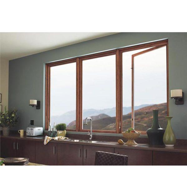 China WDMA window for mobile home Aluminum Casement Window