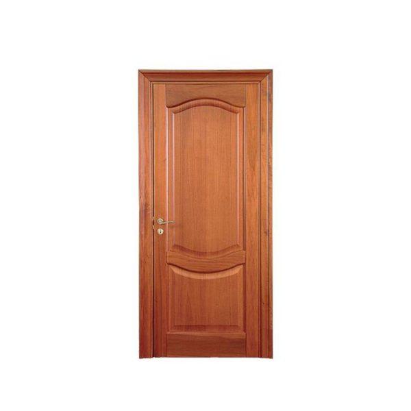 China WDMA Customized Design Miami Interior Teak Wood Door Design