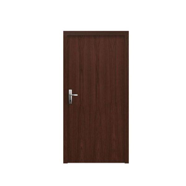 WDMA Customized Design Single Colonial Wooden Doors Design