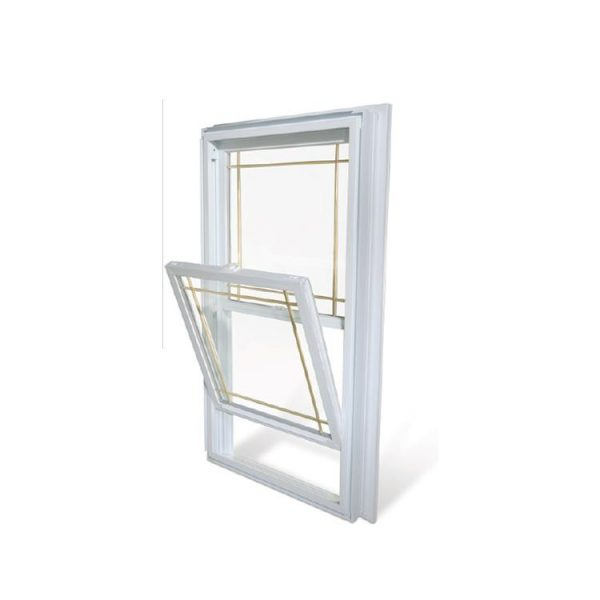 China WDMA Vertical sliding aluminum window Aluminum Single Hung Window