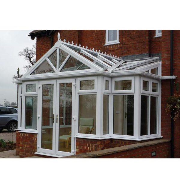 WDMA Customized Villa Container Glass Garden House White Color
