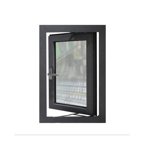 WDMA Decorative Aluminum Casement Window Security Bars With Mesh Burglar Proof