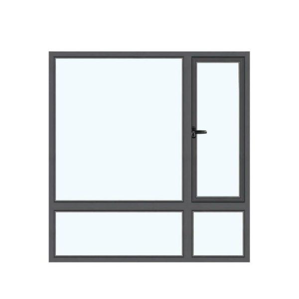 WDMA Aluminum Window With Mesh