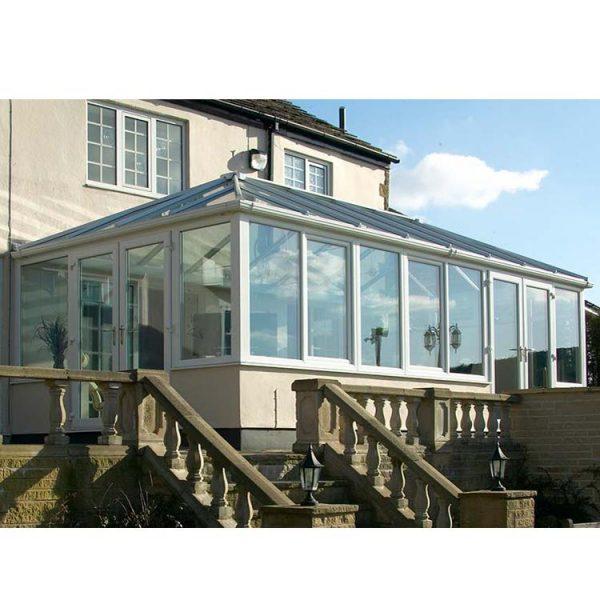 WDMA glass house for pool Aluminum Sunroom